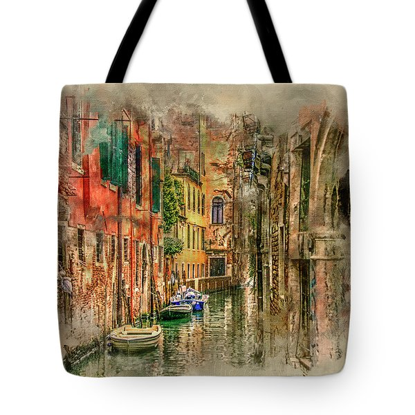 Impressions Of Venice Tote Bag by Brian Tarr