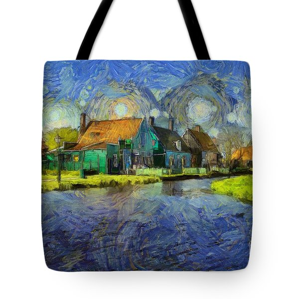 Impressions Of Zaanse Schans Tote Bag