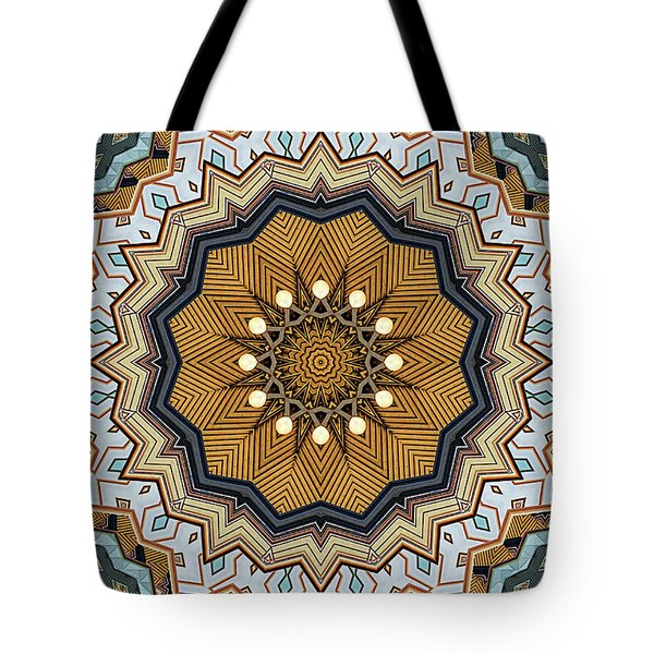 Tote Bag featuring the digital art Impressions by Wendy J St Christopher