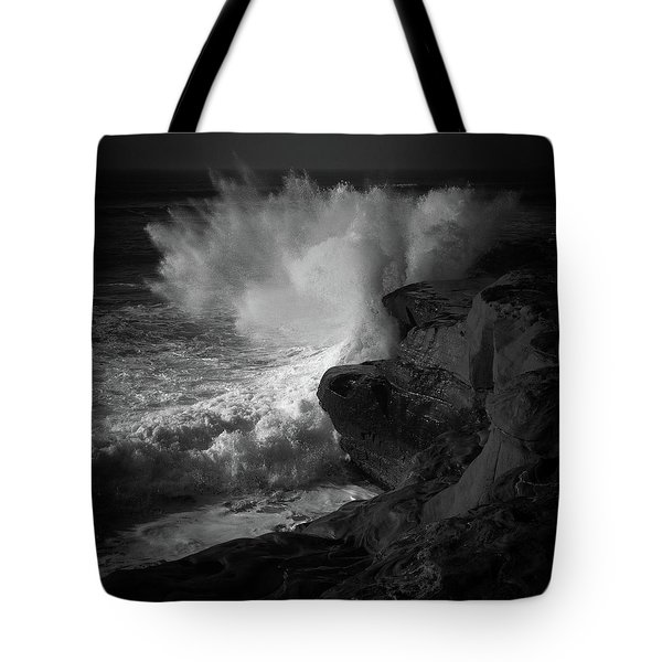 Tote Bag featuring the photograph Impulse by Ryan Weddle