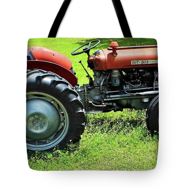 Imt 539 Tractor Tote Bag