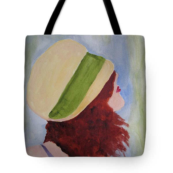 In A Breeze Tote Bag by Sandy McIntire