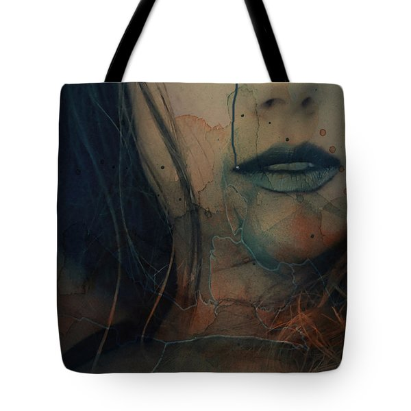 Tote Bag featuring the mixed media In A Broken Dream  by Paul Lovering