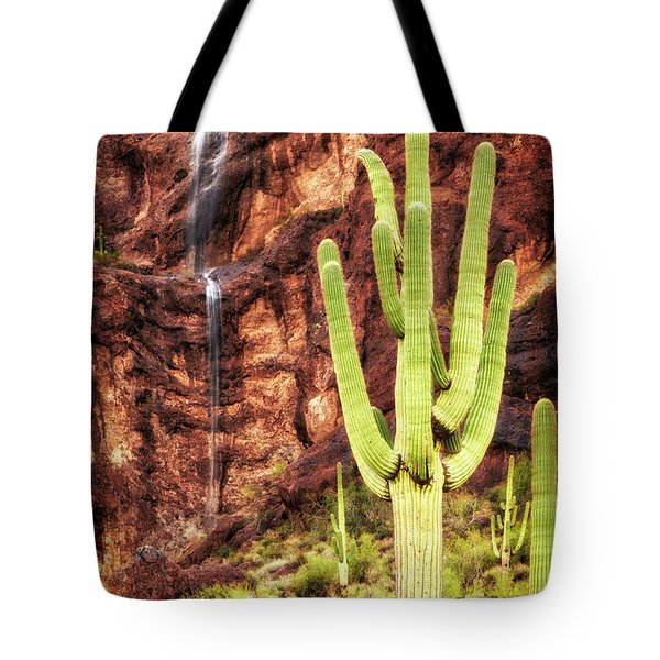 Tote Bag featuring the photograph In A Dry And Thirsty Land by Rick Furmanek