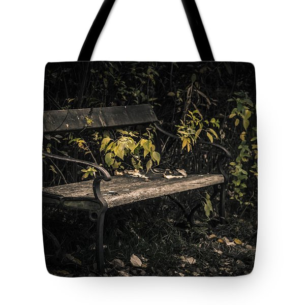 In A Forgotten Corner Tote Bag