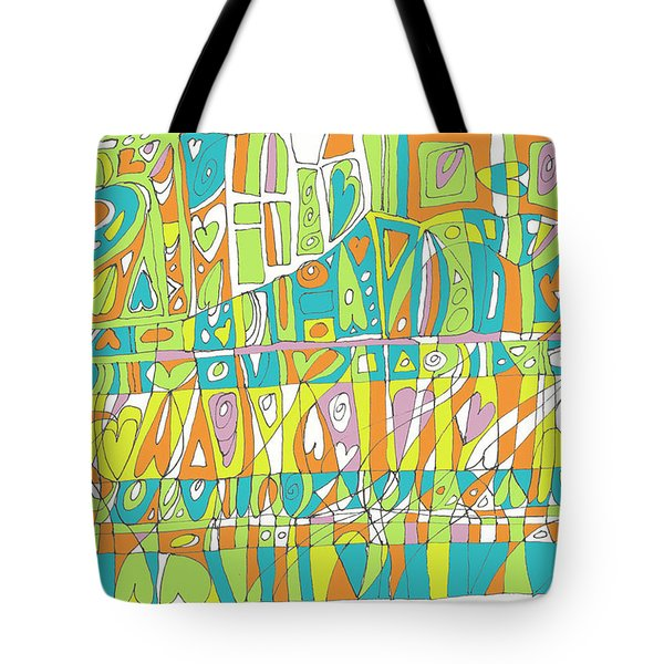 In A Heartbeat Tote Bag by Linda Kay Thomas