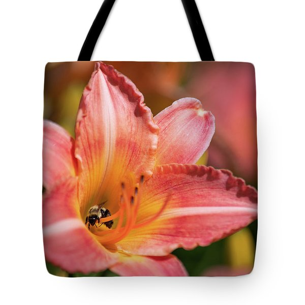 Tote Bag featuring the photograph In A Lily 1 by Brian Hale