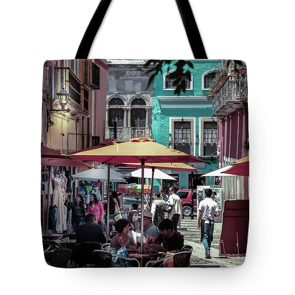 In A Little Spanish Town Tote Bag