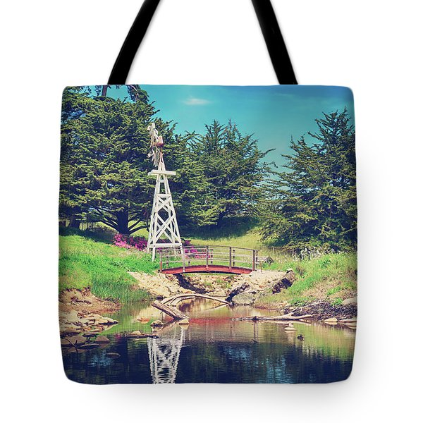 In A Perfect World Tote Bag by Laurie Search