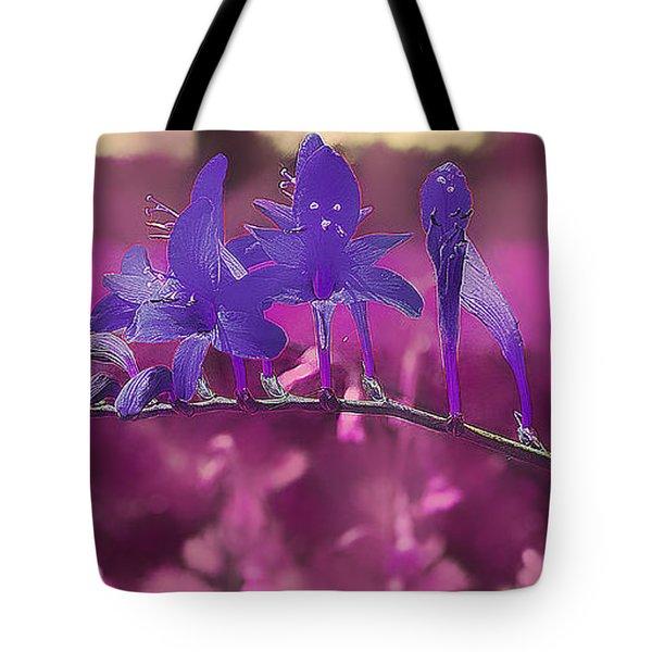 In A Pink World Tote Bag by Milena Ilieva