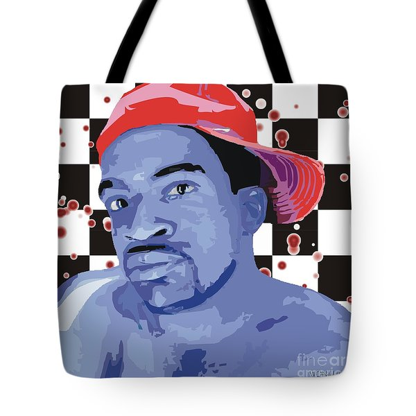In A Red Cap Tote Bag