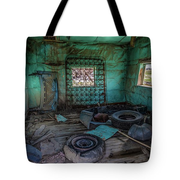 In A Shambles Tote Bag