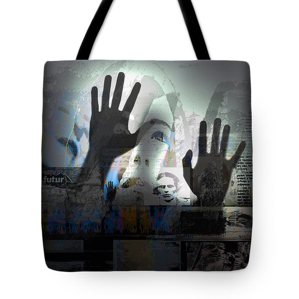 In A Vision, Or In None Tote Bag by Danica Radman