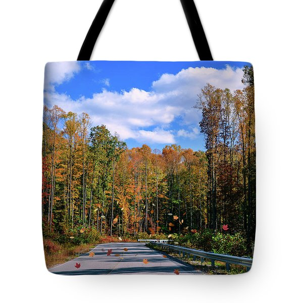 In A Whirlwind Tote Bag by Brenda Bostic