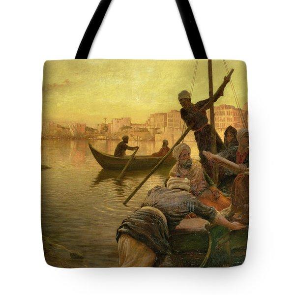 In Cairo Tote Bag by Joseph Farquharson