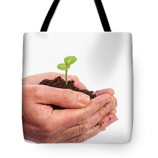 Tote Bag featuring the photograph In Care by Patricia Hofmeester