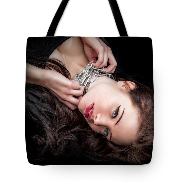 In Chains Tote Bag
