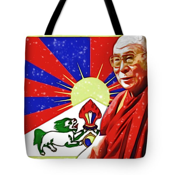 Tote Bag featuring the digital art In Commemoration by Mario Carini