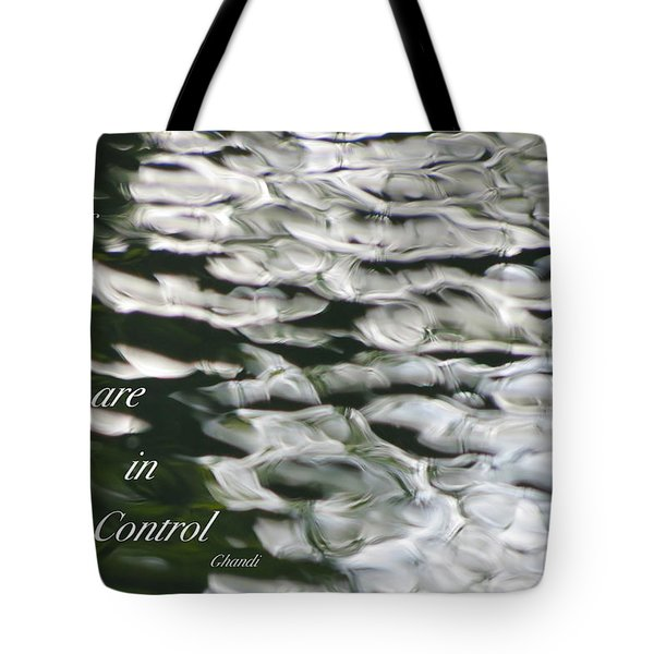 In Control Tote Bag by David Norman