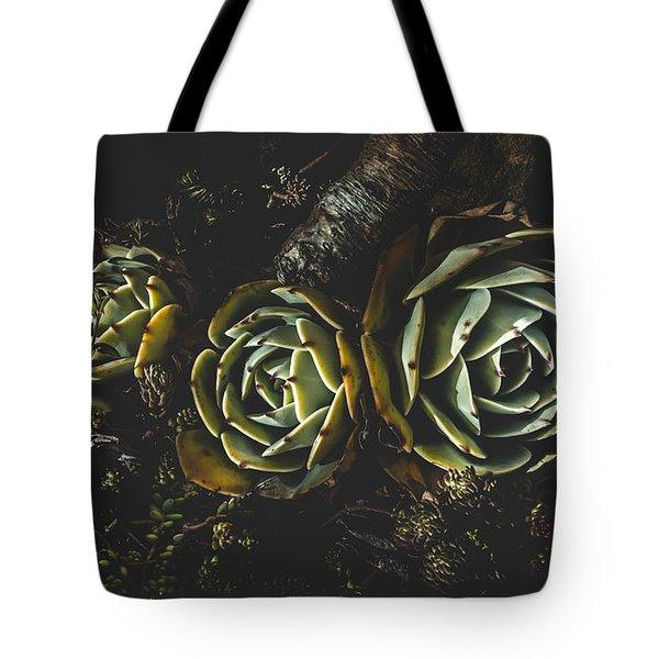 In Dark Bloom Tote Bag