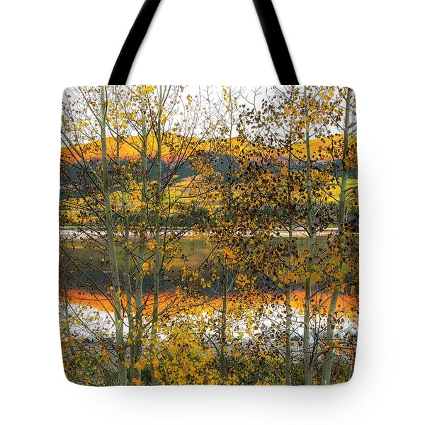 Tote Bag featuring the photograph In Early Morning Light by Tim Reaves