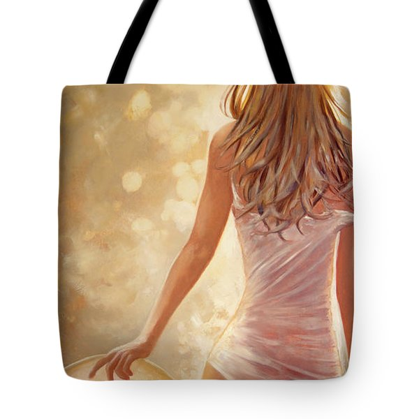 In Fields Of Summer Gold Tote Bag