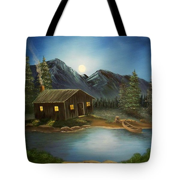 In For The Night Tote Bag