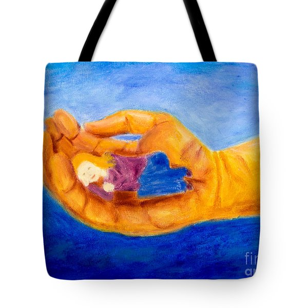 In God's Hand Tote Bag