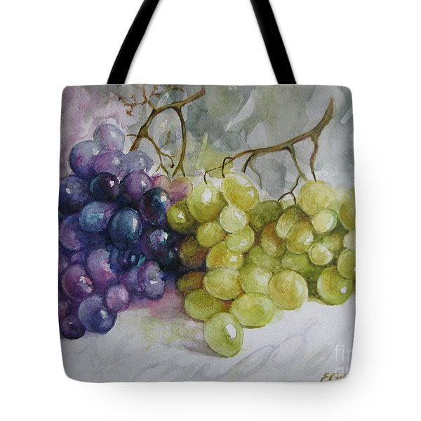 Tote Bag featuring the painting In Harmony by Elena Oleniuc