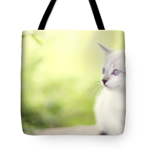 In Her Eyes Tote Bag by Amy Tyler
