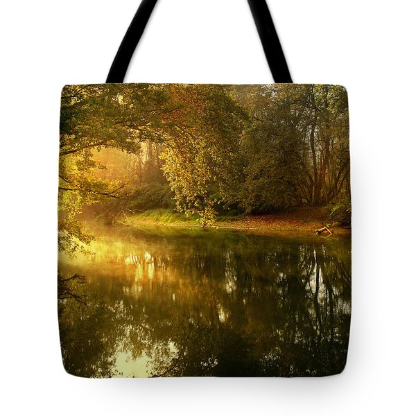 In His Presence Tote Bag by Rob Blair