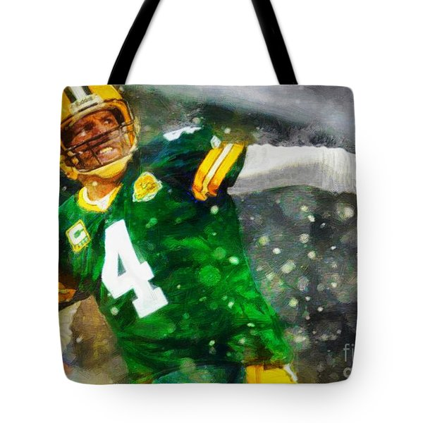 In Honor Of Number 4 The Living Legend Tote Bag