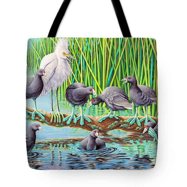 in Kahoots with Coots Tote Bag