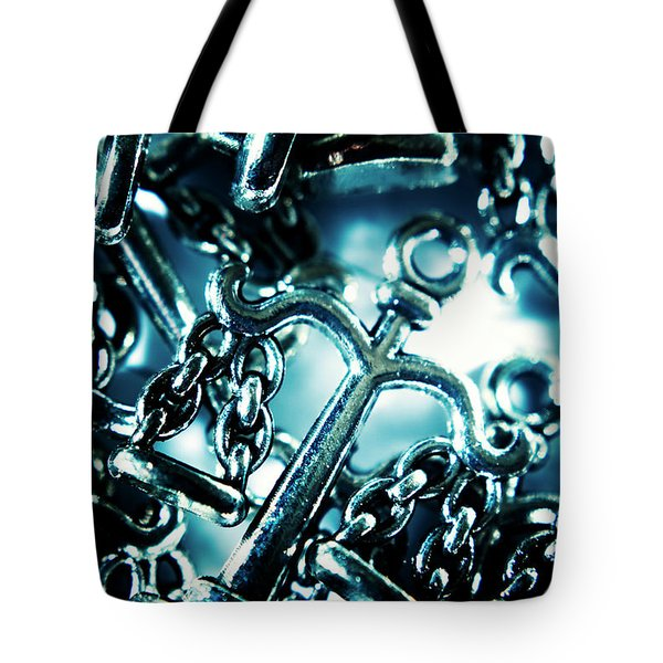 In Liberty Of Justice Tote Bag