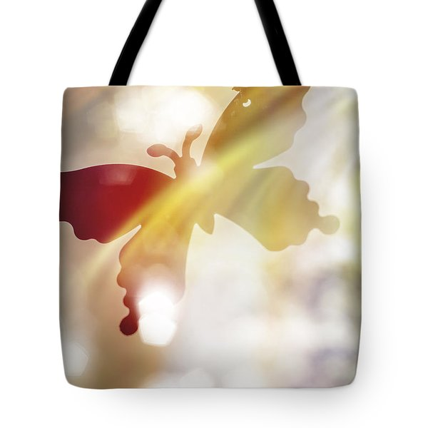 In Light Of Clipped Wings Tote Bag