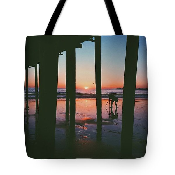 In Light Of The Oncoming Storm Tote Bag