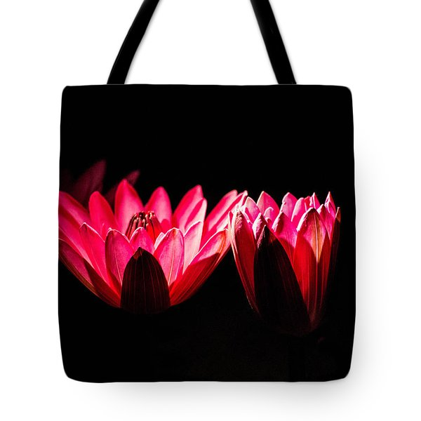 In Light There Is Hope Tote Bag