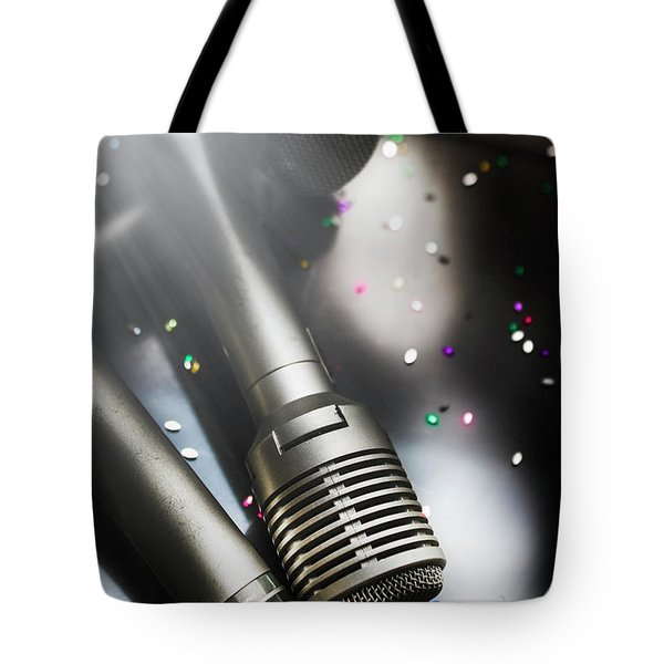 In Lights And Glitter Tote Bag