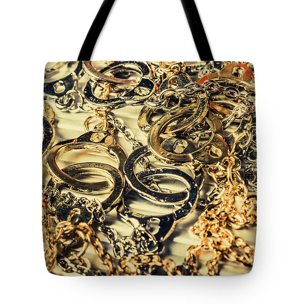 In Locks And Chains Tote Bag