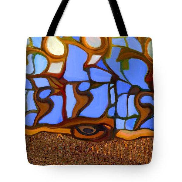 In Looking Out Tote Bag