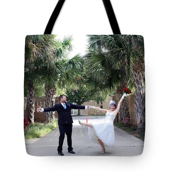 In Love Tote Bag by Ismael Cavazos