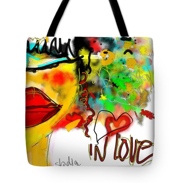 In Love  Tote Bag by Sladjana Lazarevic