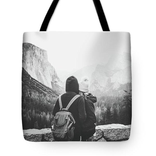 Yosemite Love Tote Bag by JR Photography
