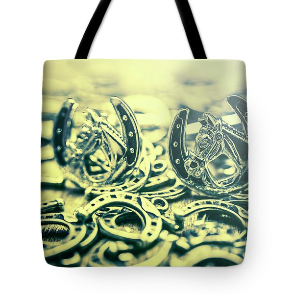 In Luck Of The Horse Race Tote Bag