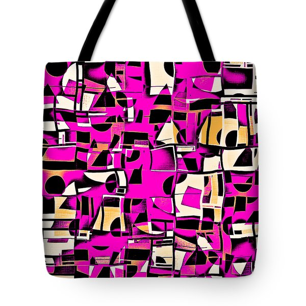In Medias Res Iv Tote Bag by Aurelio Zucco