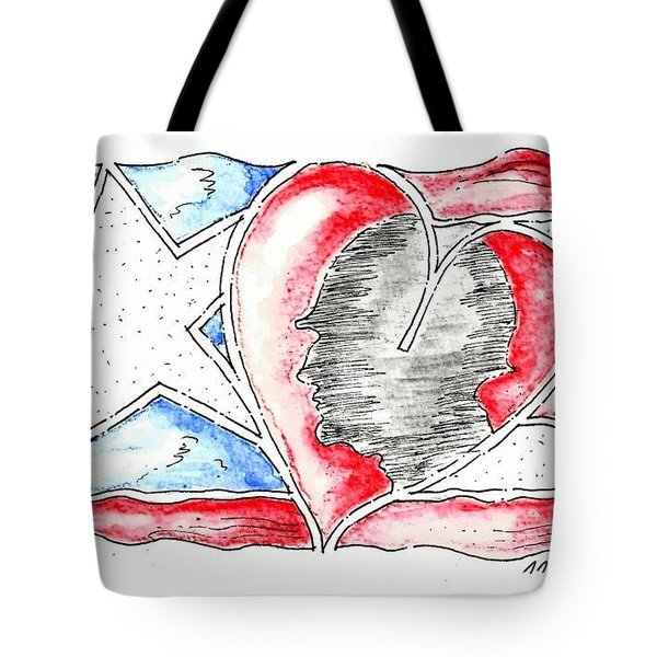In Memory And Honor Tote Bag by Jason Nicholas