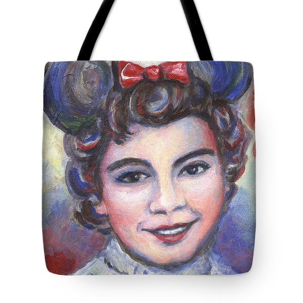 In Memory Of Annette Funicello Tote Bag