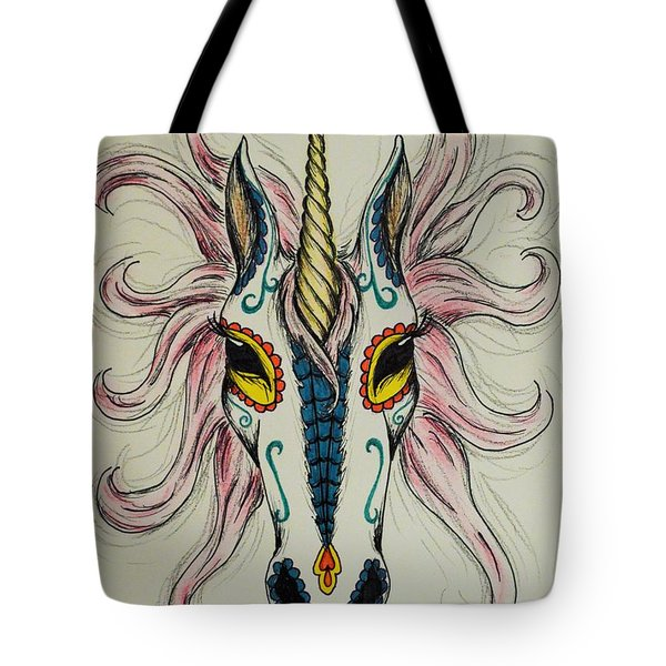 In Memory Of The Long Lost Unicorn Tote Bag