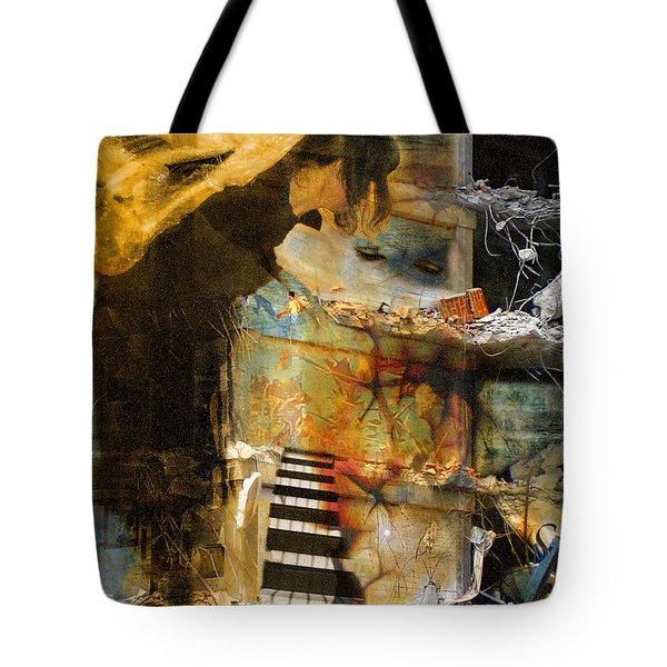 Crumble-metamorphosis Begins Tote Bag