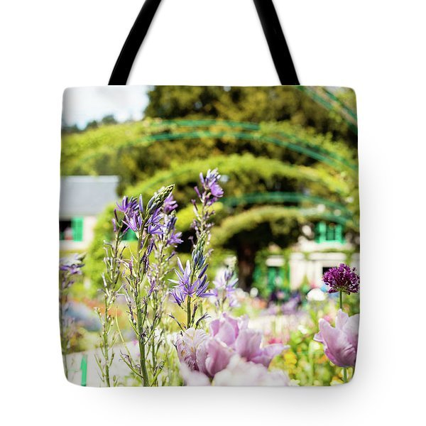 In Monet's Garden Tote Bag